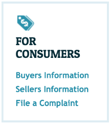 Home page image for MLKAR For Consumers, Buyers Information, Sellers Information, File a Complaint
